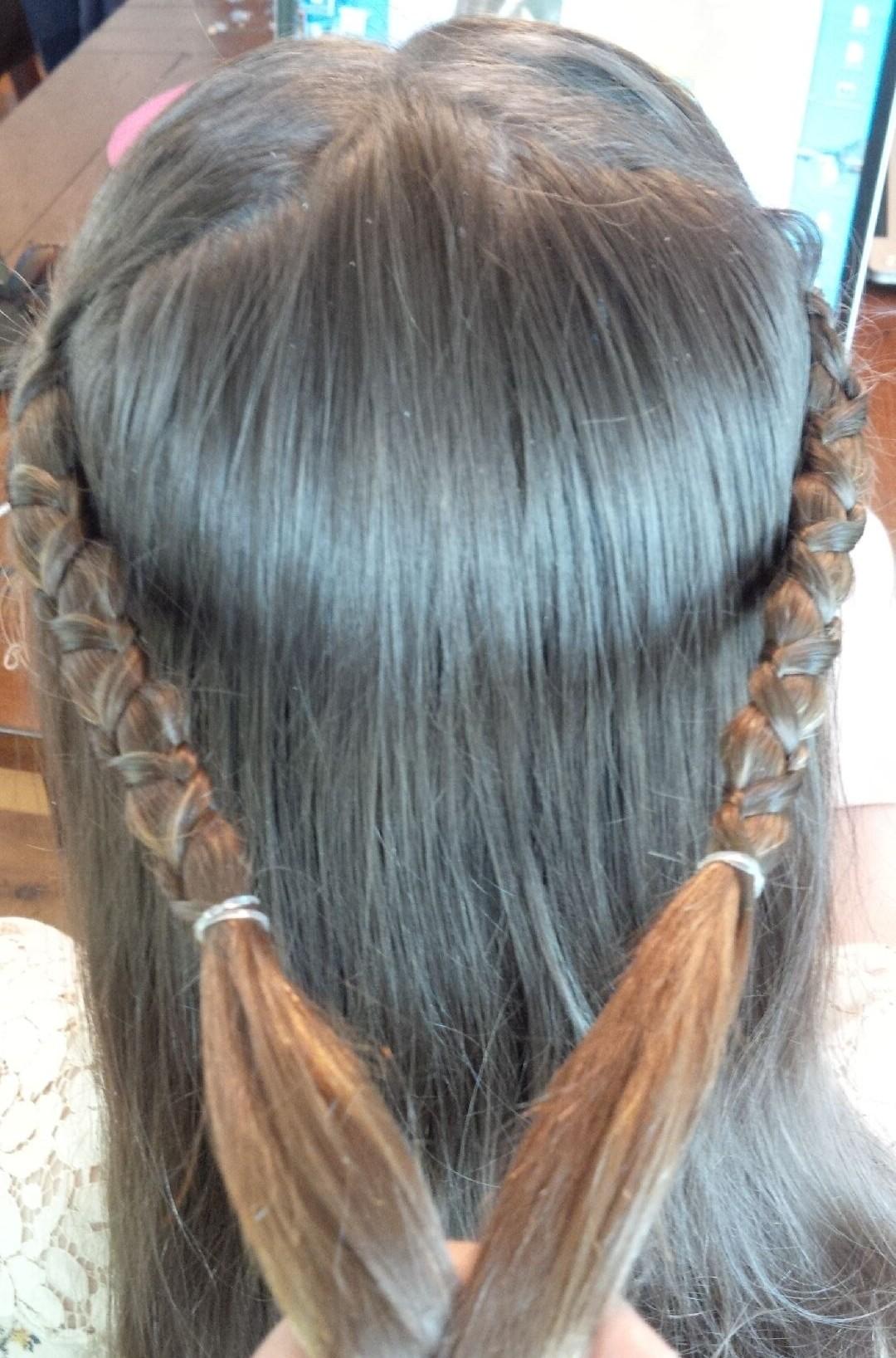 renaissance braid with knot | genuine girls club magazine